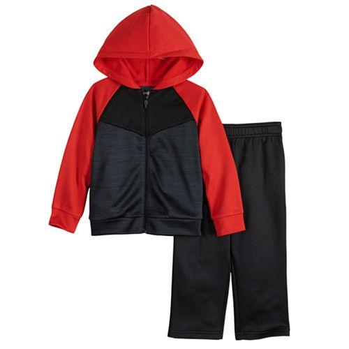 Toddler Boy Jumping Beans® Hoodie & Athletic Pants Set