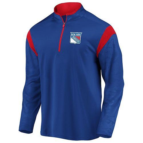 Men's New York Rangers Defender Pullover