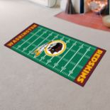 Fanmats® Washington Redskins Football Field Rug