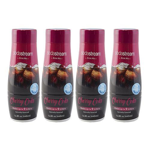SodaStream Cherry Cola 14.8-oz. Sparkling Drink Mix - 4-pk