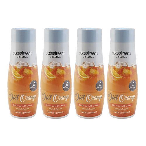 SodaStream Diet Orange 14.8-oz. Sparkling Drink Mix - 4-pk