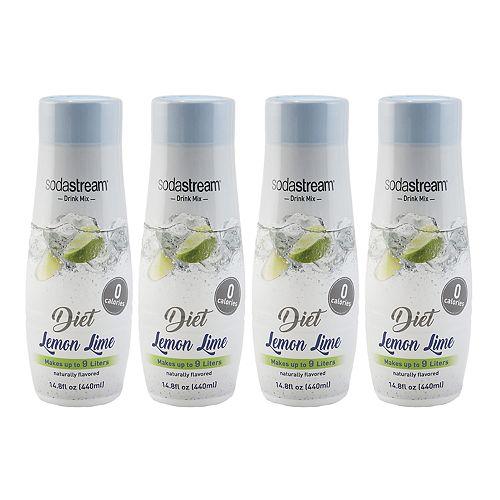 SodaStream Diet Lemon Lime 14.8-oz. Sparkling Drink Mix - 4-pk