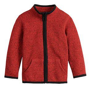 Baby Boy Jumping Beans® Sweater-Fleece Zip Jacket