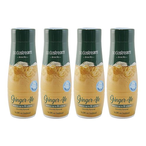 SodaStream Ginger Ale 14.8-oz. Sparkling Drink Mix - 4-pk