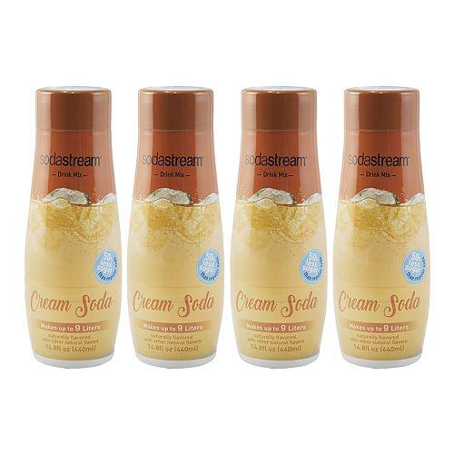 SodaStream Cream Soda 14.8-oz. Sparkling Drink Mix - 4-pk