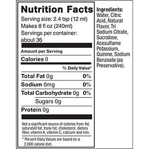 SodaStream Diet Tonic 14.8-oz. Sparkling Drink Mix - 4-pk