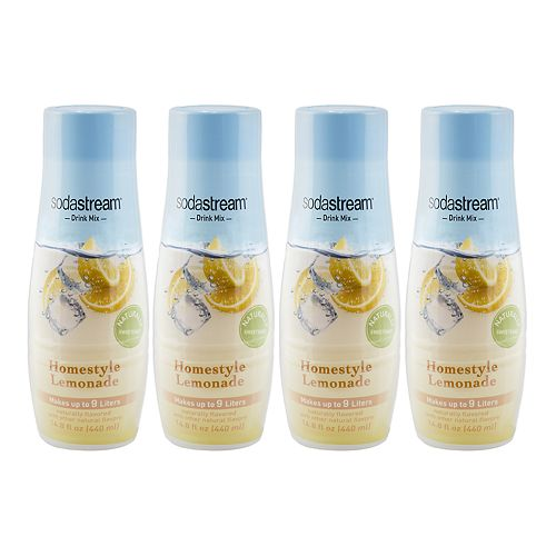 SodaStream Homestyle Lemonade 14.8-oz. Sparkling Drink Mix - 4-pk