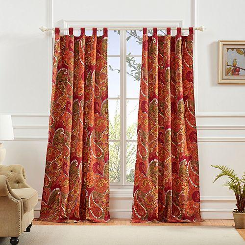 Greenland Home 2-pack Tivoli Window Curtain Set
