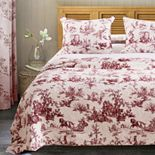 Greenland Home Classic Toile Bedspread Set