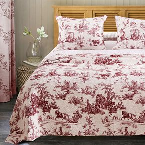 Greenland Home Classic Toile Bedding Set