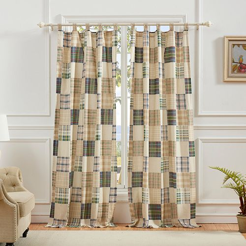 Greenland Home 2-pack Oxford Window Curtain Set