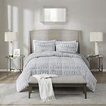 Madison Park Margot Long Faux Fur Comforter Set with Shams