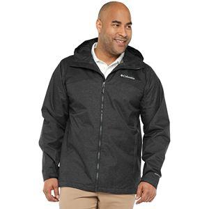 Big & Tall Columbia Ridge Gates Omni-Tech? Waterproof Hooded Rain Jacket