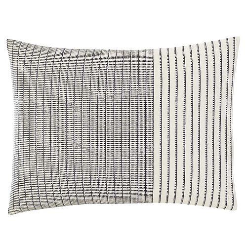 ED Ellen DeGeneres Akira Natural Throw Pillow