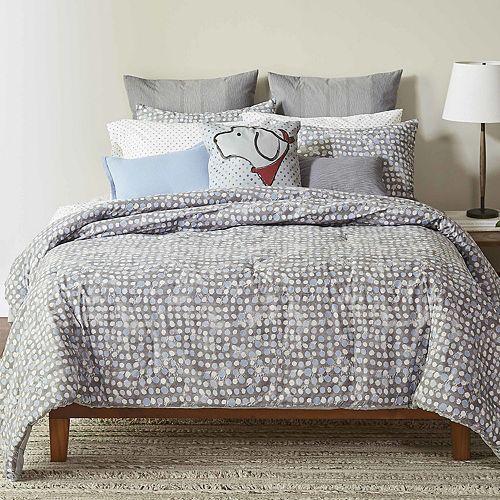 ED Ellen DeGeneres Soledad Grey Comforter Set