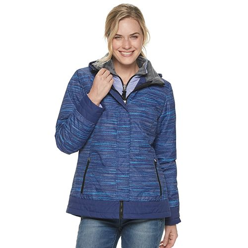 Women's Free Country Space-Dyed Water Resistant 3-in-1 Systems Jacket