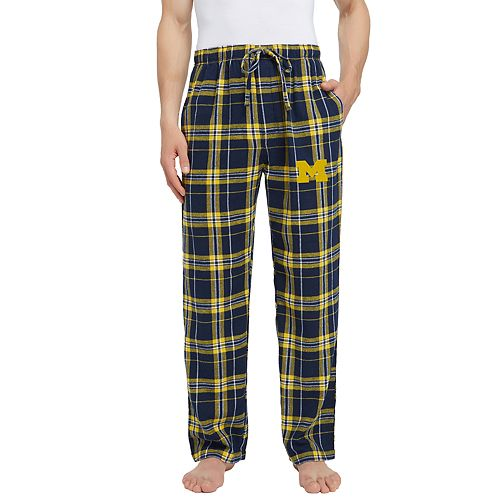 Men's Michigan Wolverines Hllstone Flannel Pants