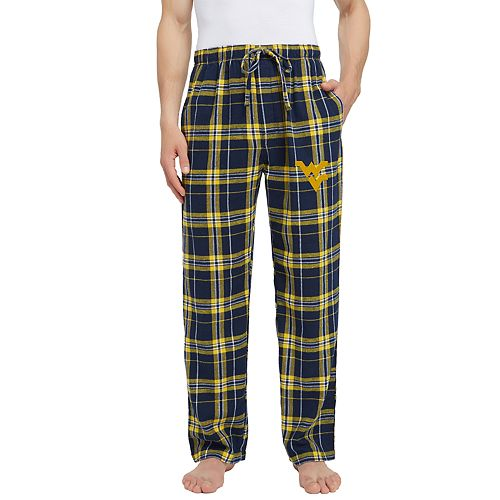 Men's West Virginia Mountaineers Hllstone Flannel Pants