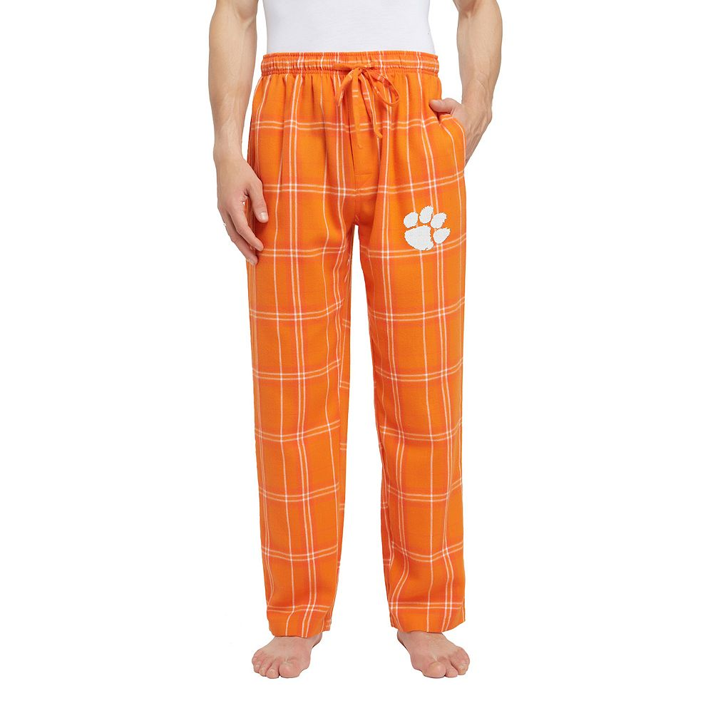 Men's Clemson Tigers Hillstone Flannel Lounge Pants