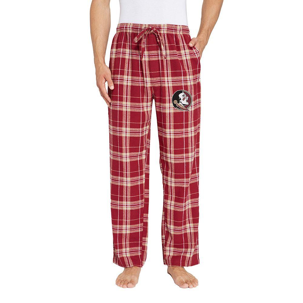 Men's Florida State Seminoles Hillstone Flannel Lounge Pants