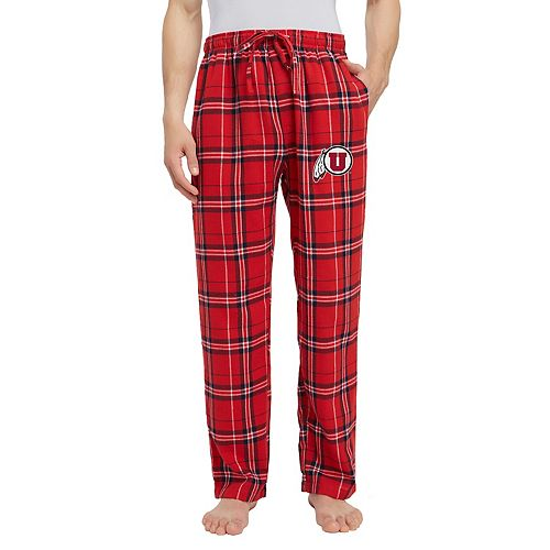 Men's Utah Utes Hillstone Flannel Lounge Pants
