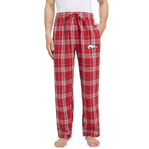 Men's Arkansas Razorbacks Hllstone Flannel Pants