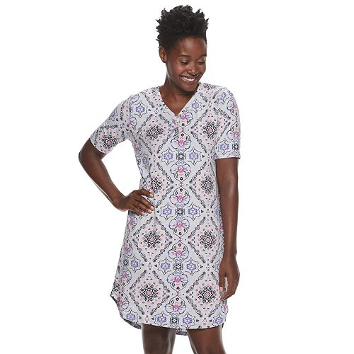 Women's Croft & Barrow® Lush Luxe Sleepshirt
