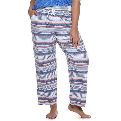 Plus Size Croft & Barrow® Lush Luxe Pajama Pants