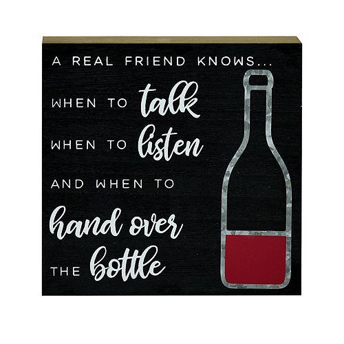 Belle Maison Wine 6x6 Art Box