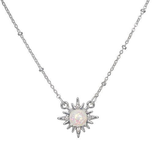 LC Lauren Conrad Starburst Pendant Necklace