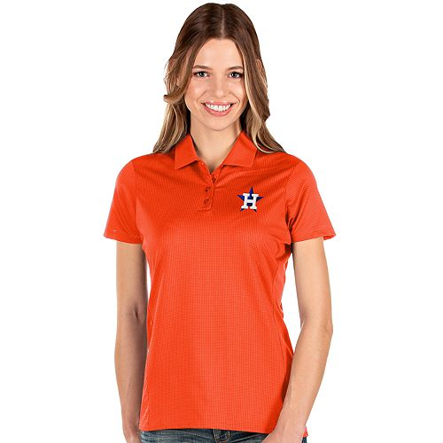 Women's Antigua Houston Astros Balance Polo