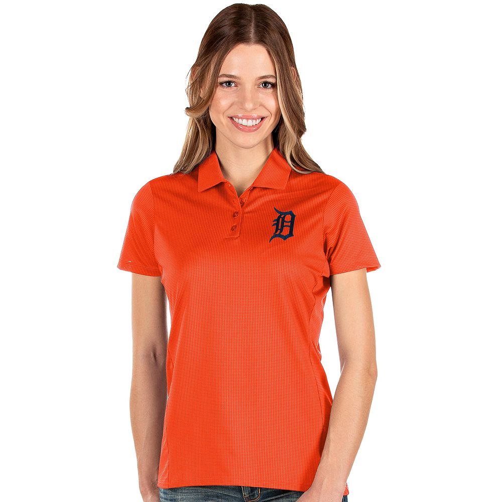 Women's Antigua Detroit Tigers Balance Polo