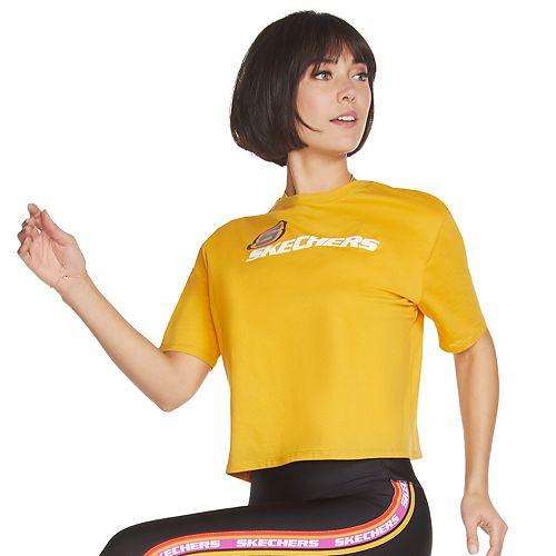 Women's Skechers Apparel OG Cropped Tee Shirt