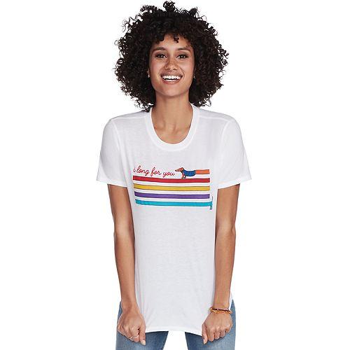 Women's Skechers Long For You Crewneck Tee Shirt