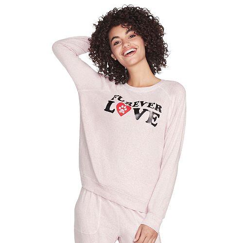 "Women's Skechers® BOBS ""Forever Love"" Sweatshirt"