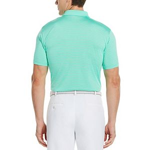 Men's Grand Slam DriFlow Classic-Fit Slubbed Performance Golf Polo