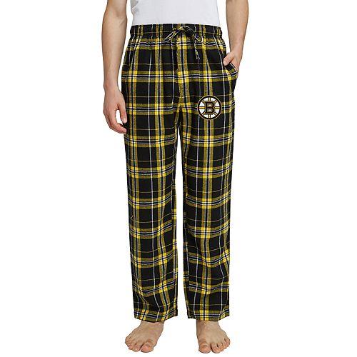 Men's Boston Bruins Hillstone Flannel Pants