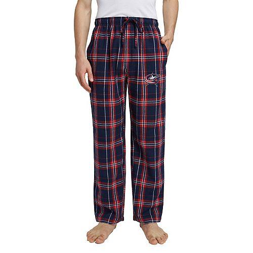 Men's Columbus Blue Jackets Hillstone Flannel Pants