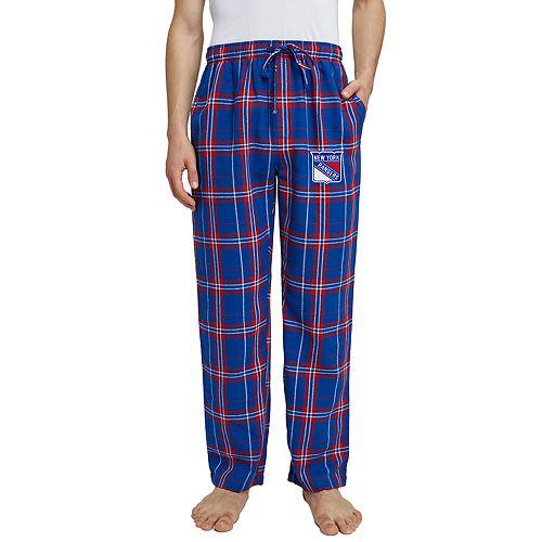 Men's New York Rangers Hillstone Flannel Pants