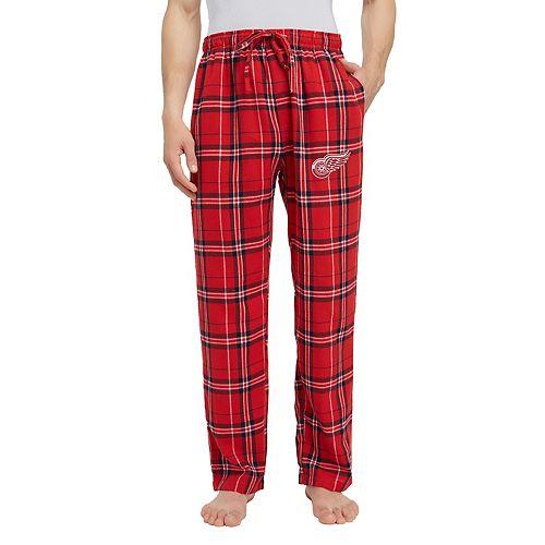Men's Detroit Red Wings Hillstone Flannel Pants