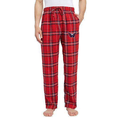 Men's Washington Capitals Hillstone Flannel Pants