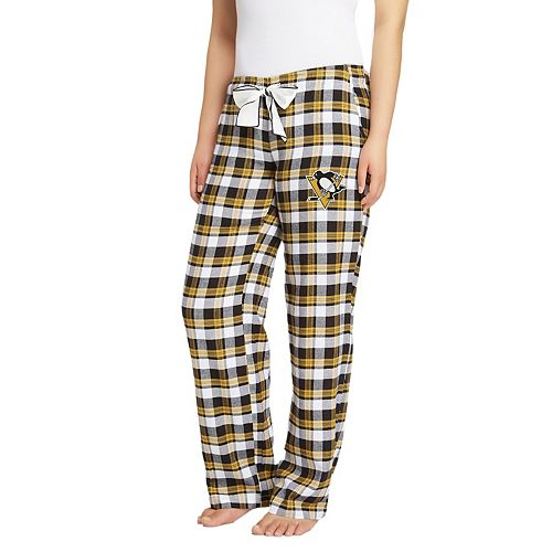 Women's Pittsburgh Penguins Piedmont Flannel Pants