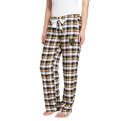 Women's Vegas Golden Knights Piedmont Flannel Lounge Pants