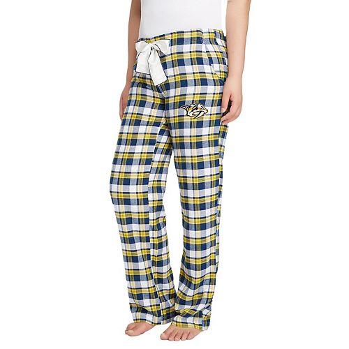 Women's Nashville Predators Piedmont Flannel Pants