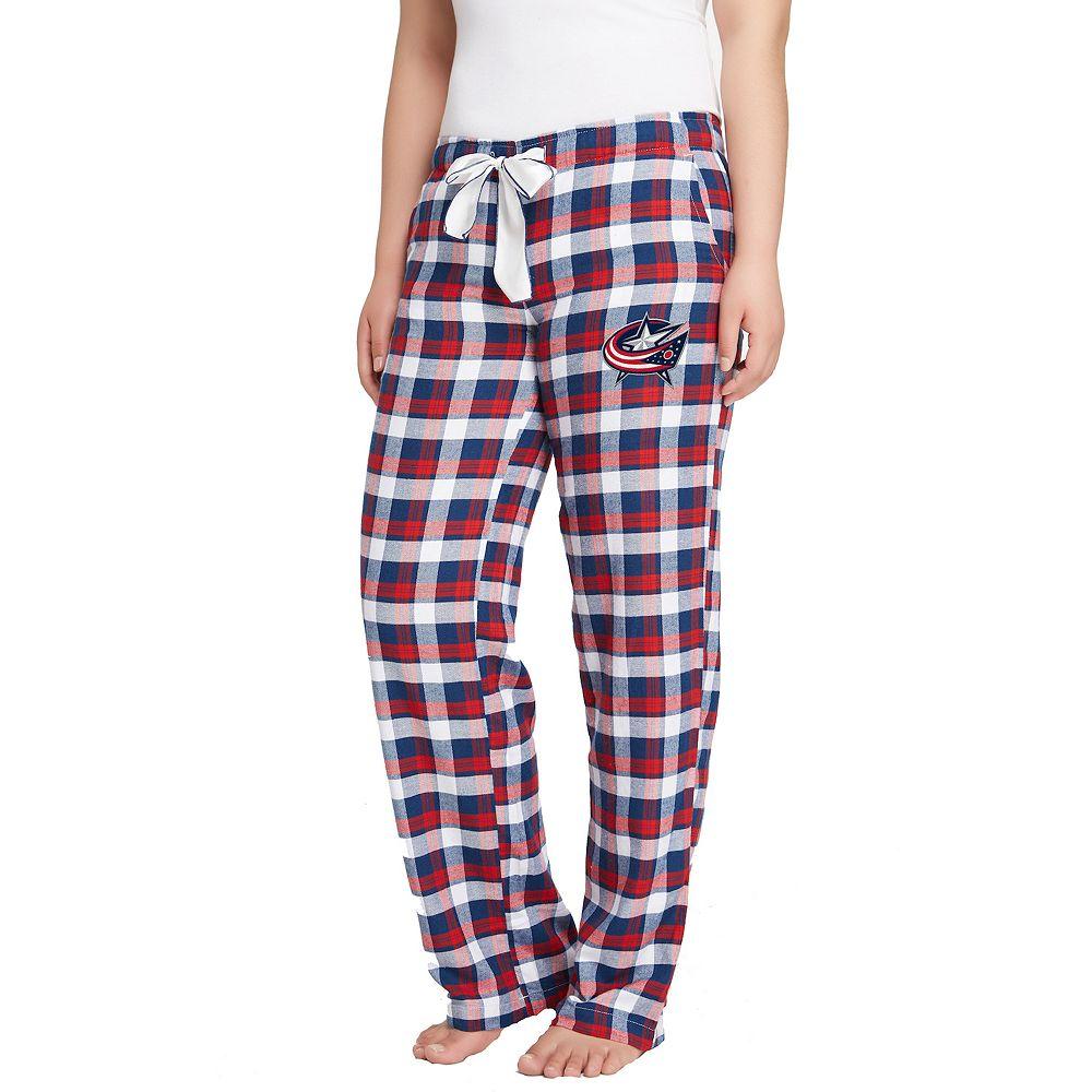 Women's Columbus Blue Jackets Piedmont Flannel Pants