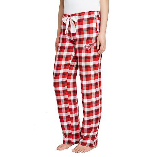 Women's Detroit Red Wings Piedmont Flannel Lounge Pants