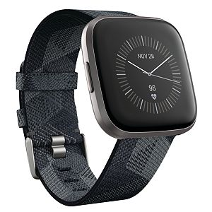 Fitbit Versa 2 Special Edition Smartwatch with Woven Band