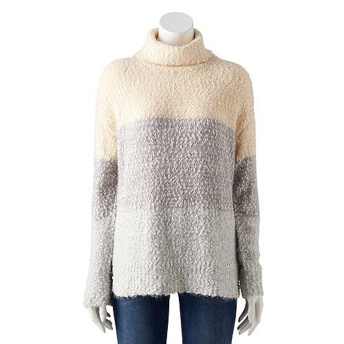 Women's LC Lauren Conrad High-Low Turtleneck Sweater
