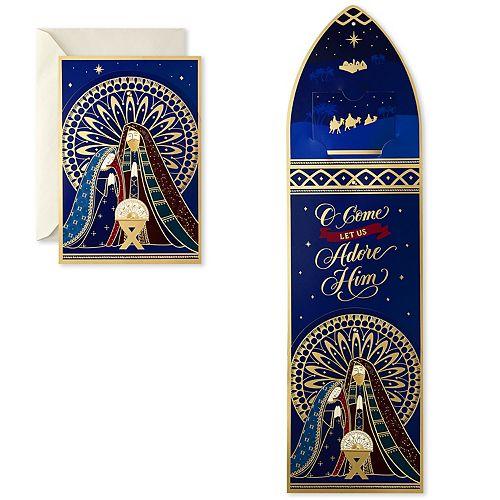 Hallmark 12-Count Nativity Displayable Religious Christmas Cards