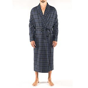 Men's Residence Big and Tall Flannel Shawl Robe